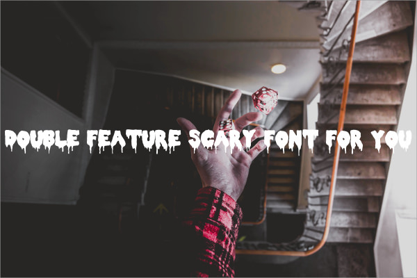 Double Feature Sacry Font For You
