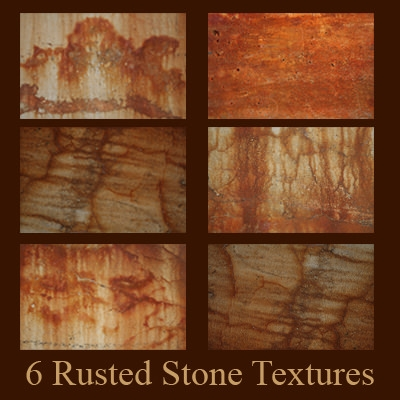 download 6 free rusted stone textures