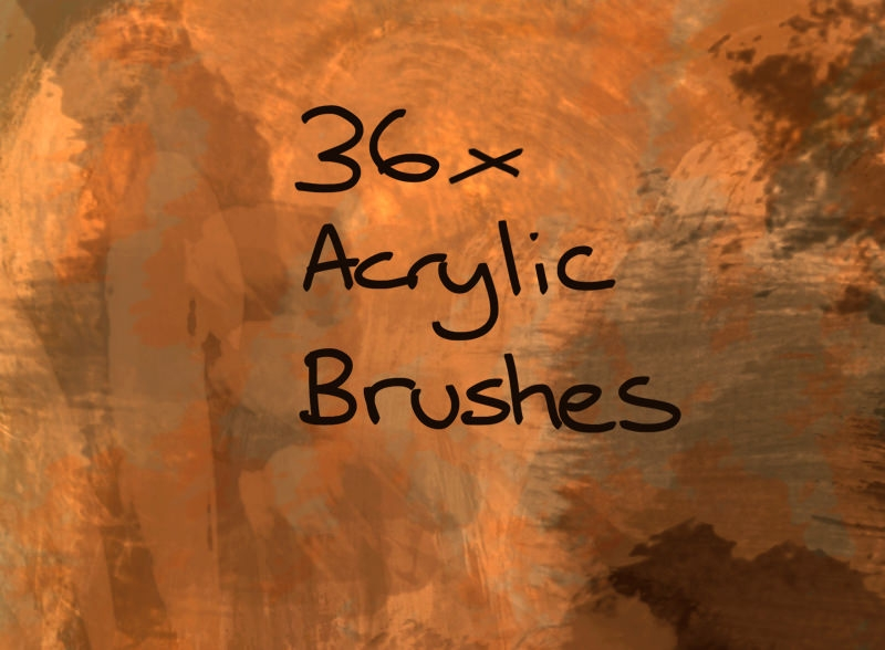 Download Acrylic Textures Brushes