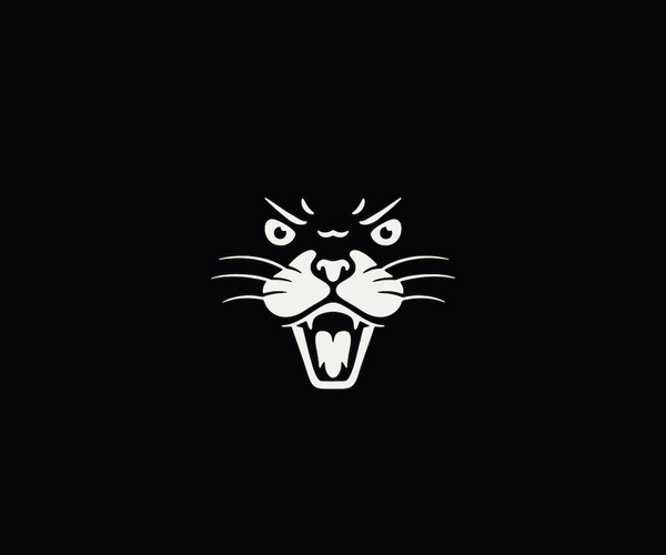Download Angry Cat Logo For Free