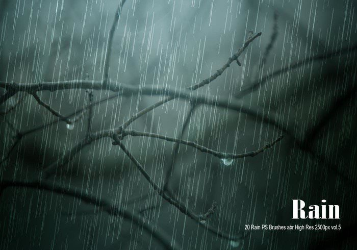 Download Awesome Rain Brushes