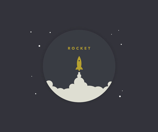 Download Awesome Rocket Logo Design