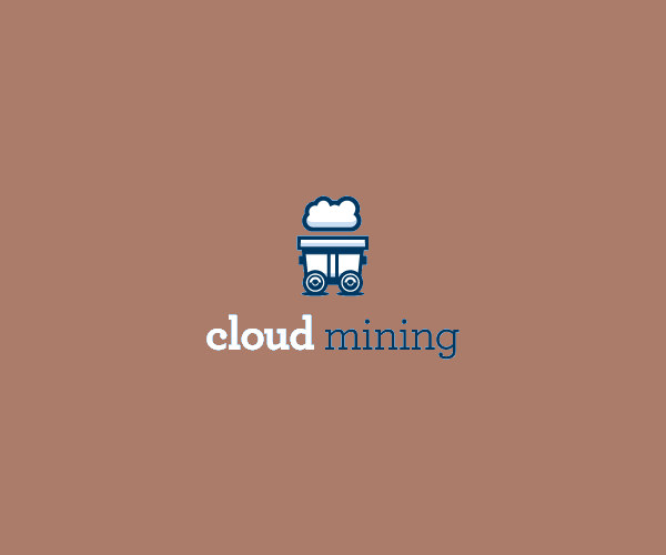 Download Cloud Mining Logo For Free
