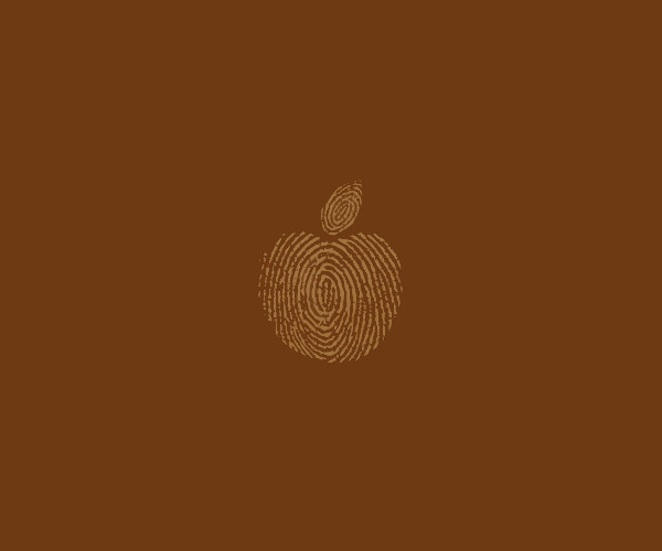 download finger print apple logo for free
