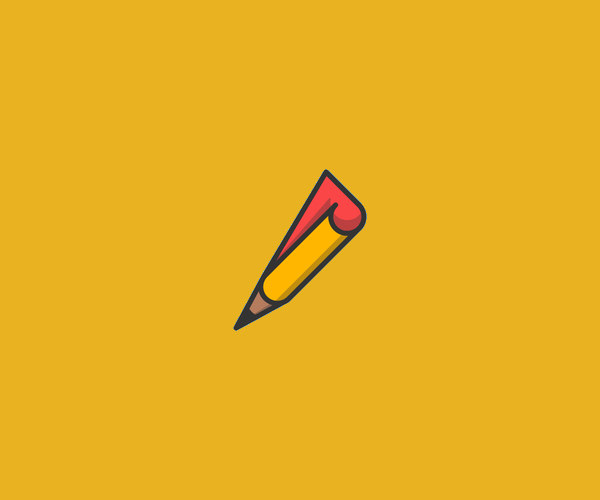 Download Fold Pencil Logo For Free