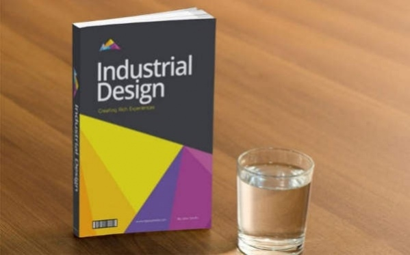 Download Free Book Cover PSD Design Mockup