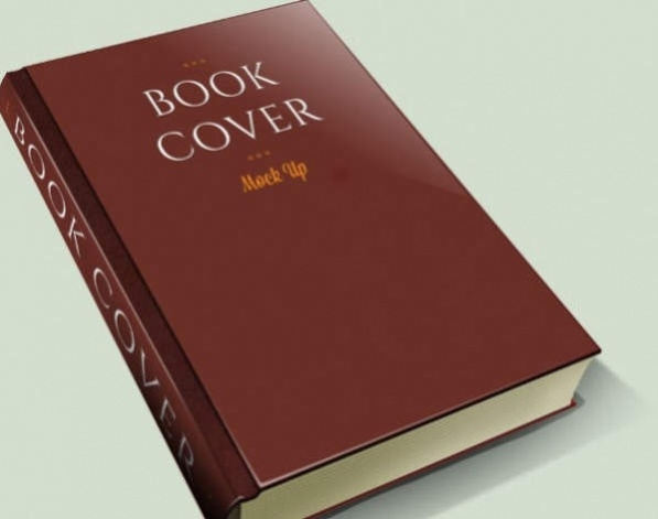 Download Free Flat Book Cover PSD Mockup