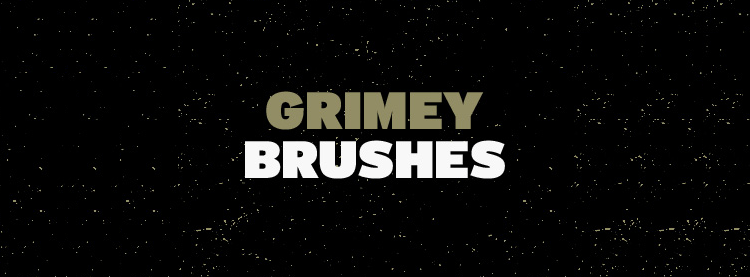 Download Free Grimey Brushes for Photoshop