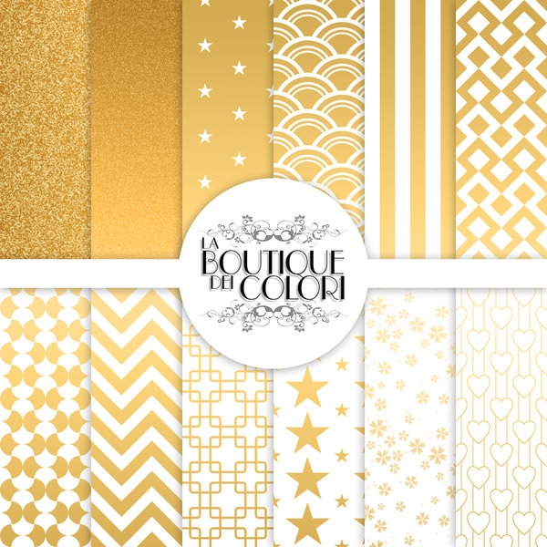 Download Free Photoshop Gold Patterns