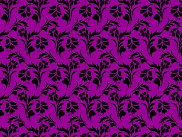Download Free Seamless Floral Wallpaper