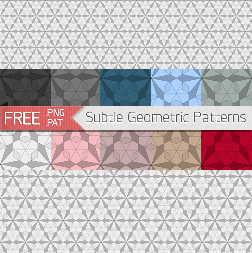 Download Free Subtle Geometric Patterns