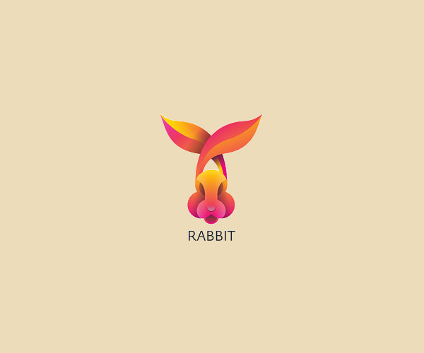 Download Fun Rabbit Logo For Free