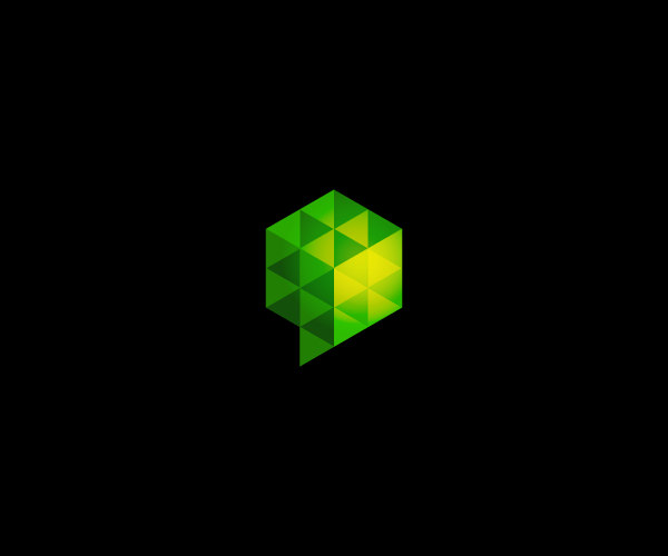 Download Green Cube Logo For Free
