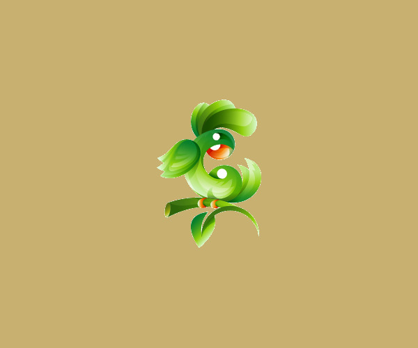 Download Green Parrot Logo For Free