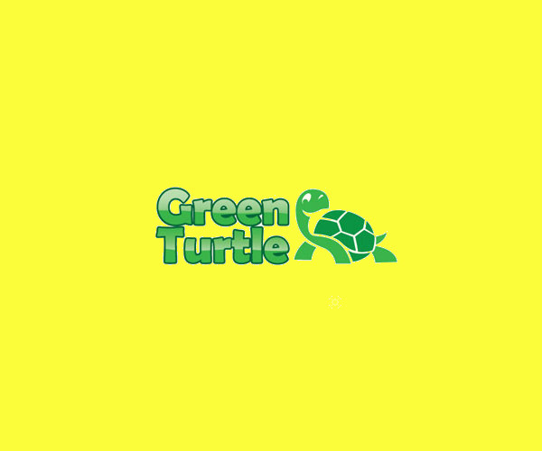 Download Green turtle Logo Design For Free
