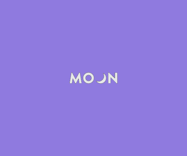 download half moon logo for free