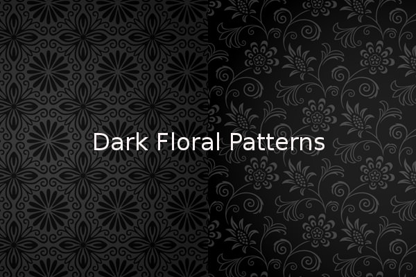 Download High Quality Dark Floral Patterns