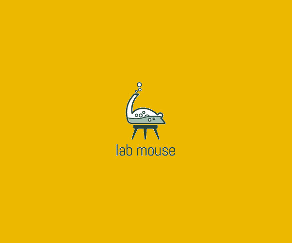 Download Lab Mouse Logo For Free