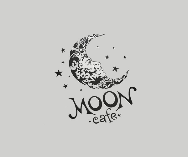 download moon cafe logo for free