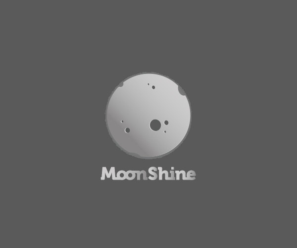 Download Moon Shine Logo For Free