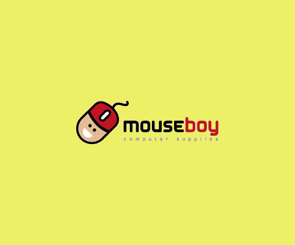 Download Mouse Boy Logo For Free