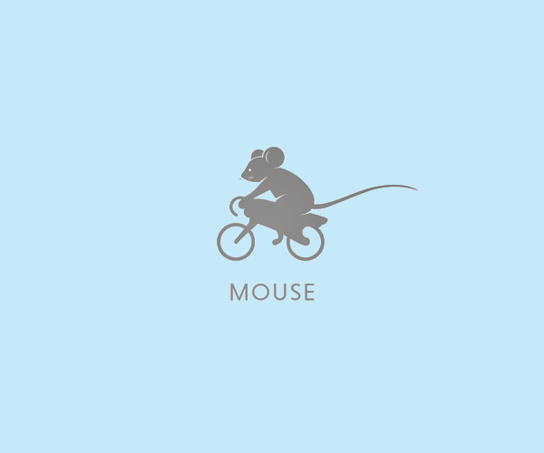Download Mouse Cycle Logo For Free