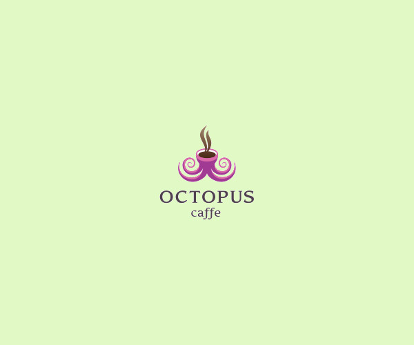 Download Octopus Cafe Logo For Free