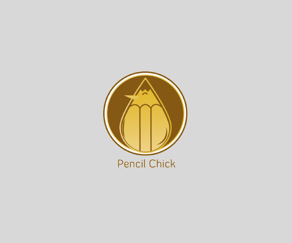 Download Pencil Chick Logo For Free