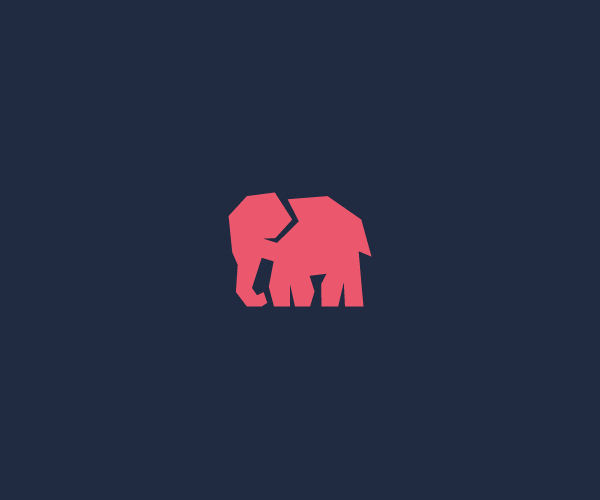 Download Pink Elephant Logo For Free