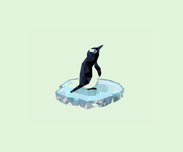 Download Polygon Penguin Logo