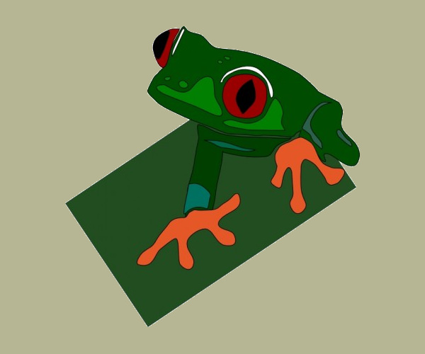 Download Red Eye Frog logo