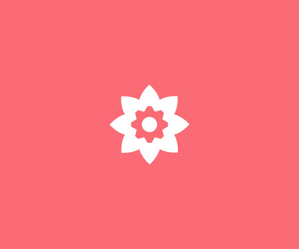 Download Simple Flower Logo For Free