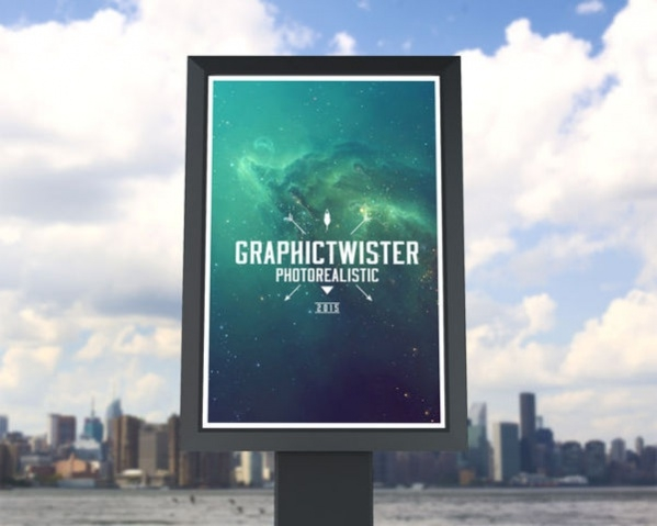 Download Small Billboard Mockup