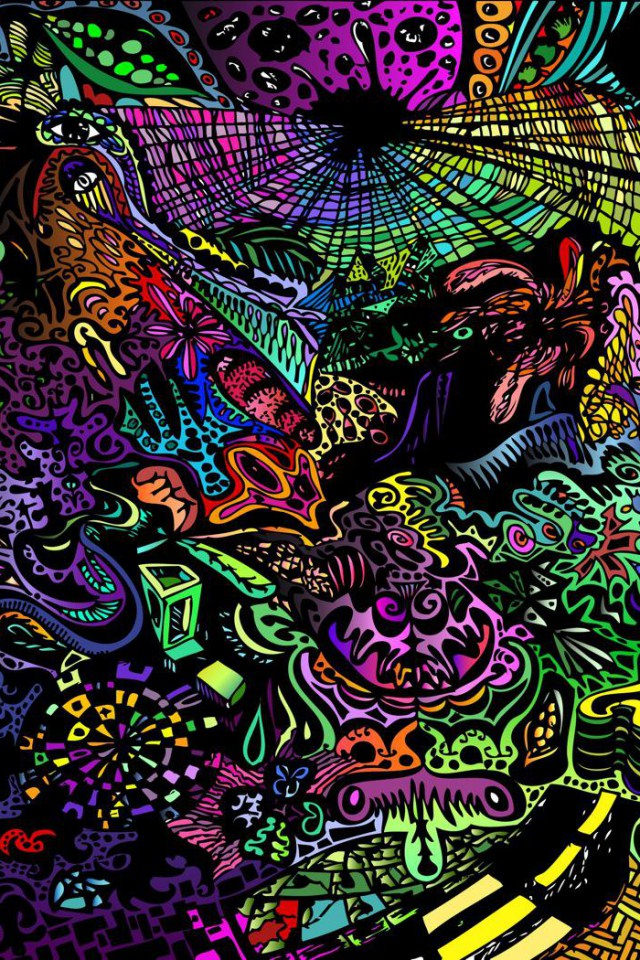 download trippy iphone background for free