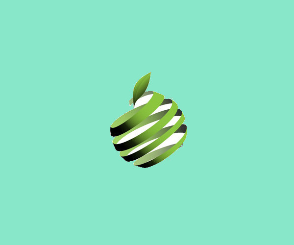 download wrapped apple logo for free