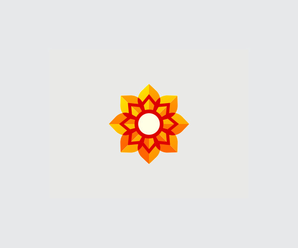 Download Yellow Flower Logo For Free