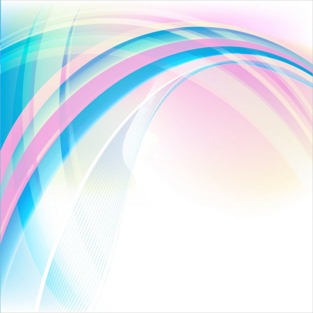 Dynamic Pink & Blue Wave Background Download
