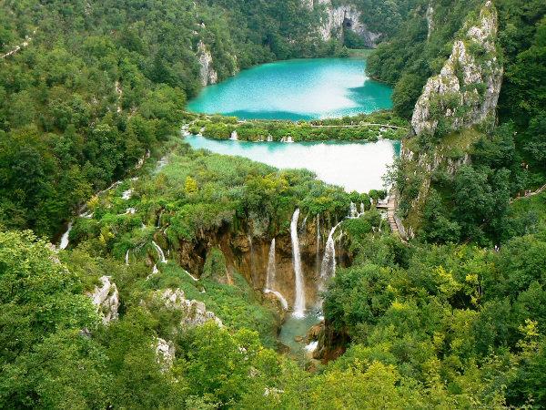 Earth Waterfall Wallpaper
