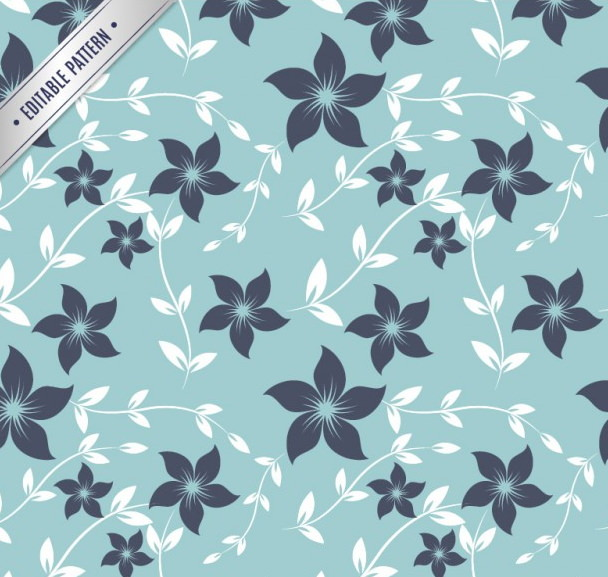 Elegant Floral Fabric Pattern