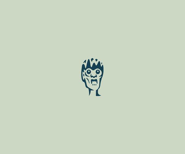 Elegant Horror Logo Design For Free