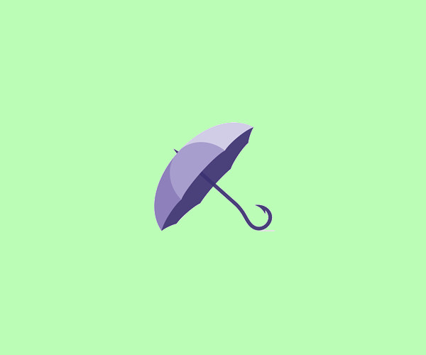 Elegant Umbrella Logo Design For Free