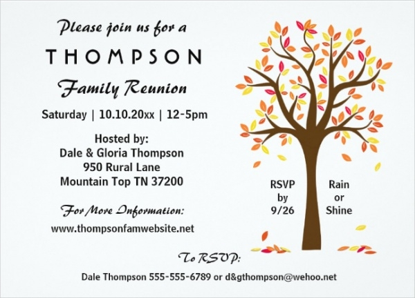 Doc600434 Reunion Invitation Wording Class Reunion Invitation – Family Gathering Invitation Wording