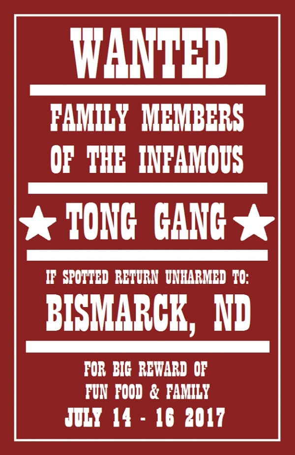 Family Reunion Party Invitation