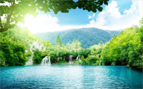 Fantastic Waterfall Wallpaper