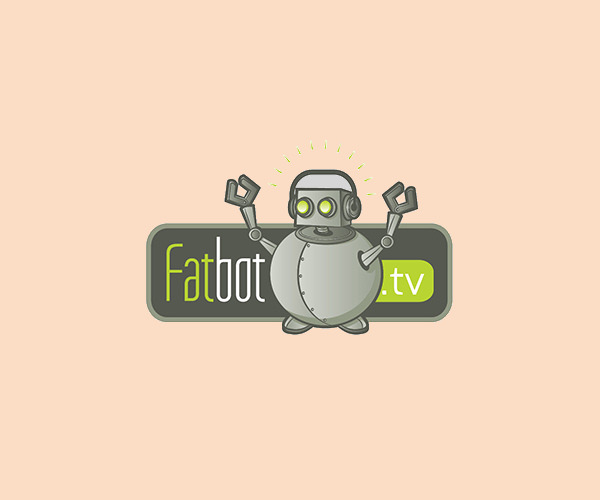 Fat Robot Logo For Free Download