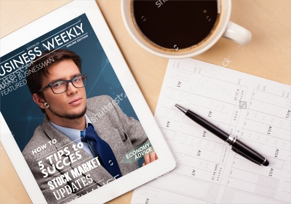 Financial Advice iPad Magazine