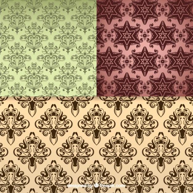 Floral seamless pattern vintage backgrounds