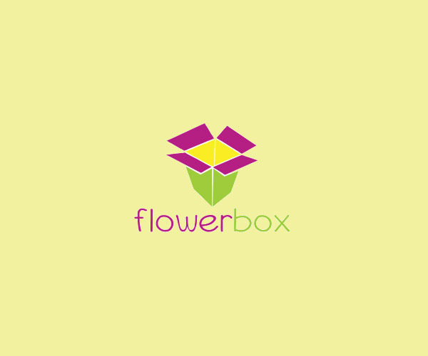 Flower Box Logo For Free Download