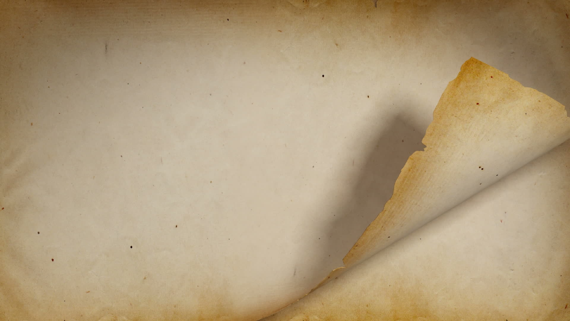 Folded Old Paper Background For Free