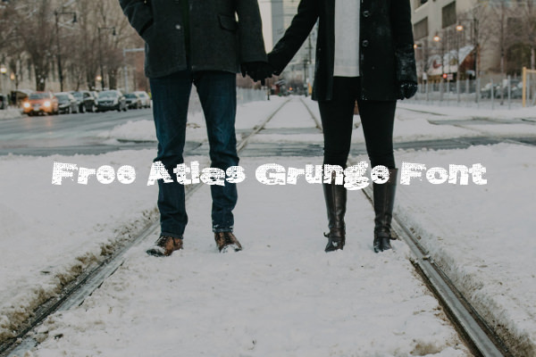 Free Atlas Grunge Font For Download